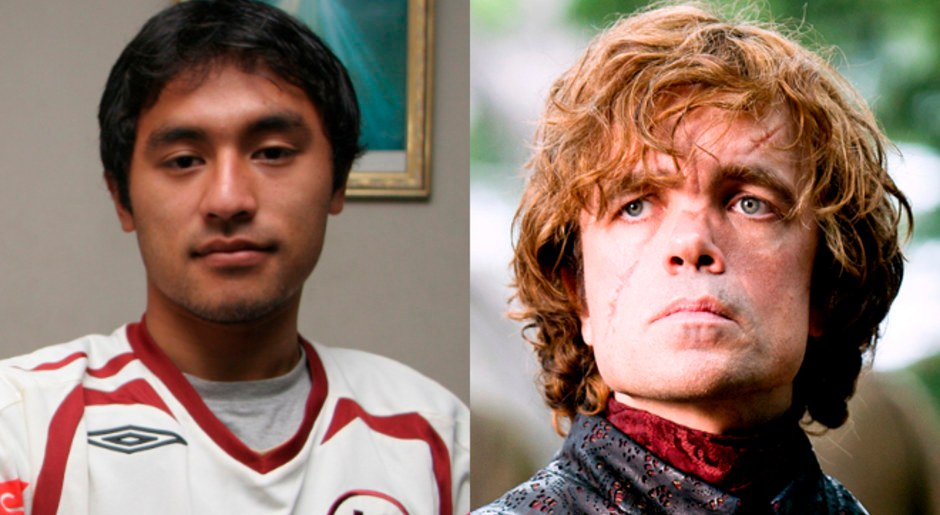 En Game of Thrones, Robert Ardiles es igualito a Tyrion Lannister.