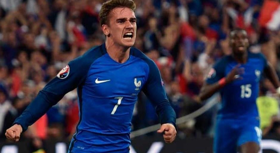 Antoine Griezmann. El francés fue el mejor jugador de la Euro 2016 y finalista con su selección. AP