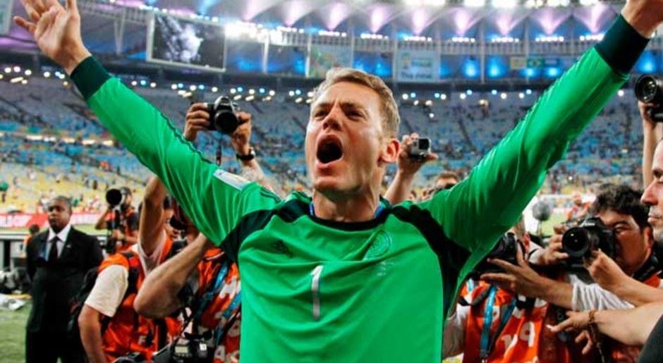 Manuel Neuer. El alemán fue campeón del mundo en Brasil 2014 y fue elegido como el 'Guante de Oro'. AP