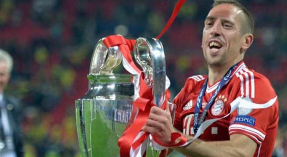 Franck Ribery. Fue campeón de la Champions League en el 2013 con Bayern Múnich y fue elegido el mejor jugador de la UEFA. AP