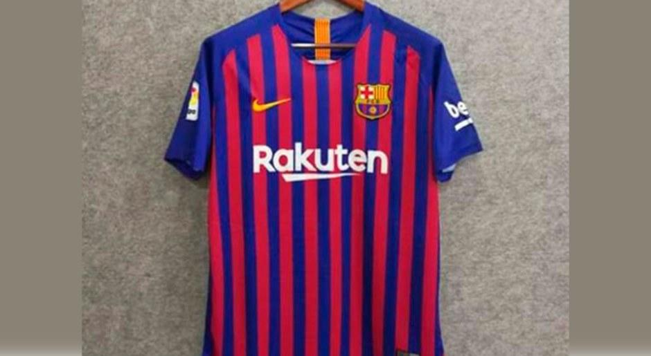 Nueva camiseta del Barcelona que lucirá Leo Messi la próxima temporada b62bd54bd22ac