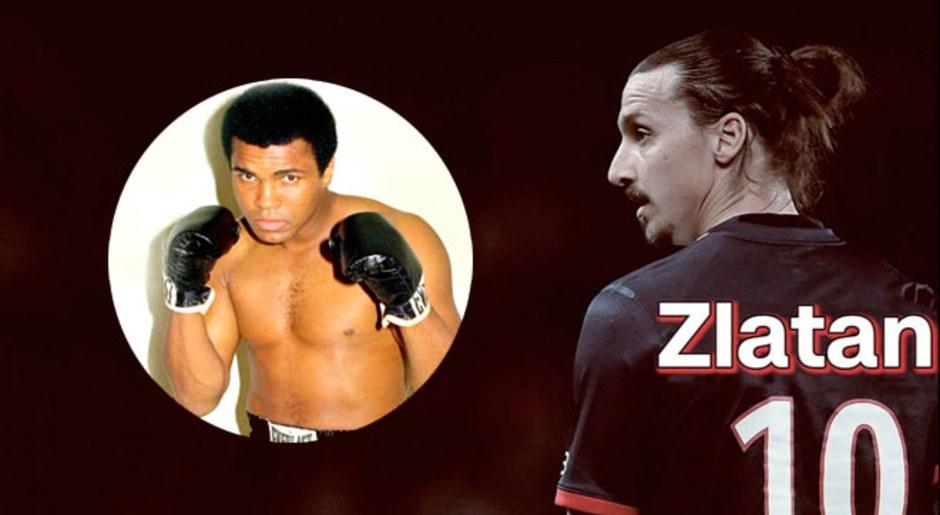 """""""Soy el más grande, como Ali. ¿Es posible que haya dos grandes? ¿No? Entonces soy el más grande por debajo de Ali"""" (sobre él y Alí)."""