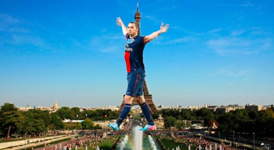 """""""Me quedo si sustituyen la Torre Eiffel por una estatua mía"""" (sobre su continuidad en el PSG)."""