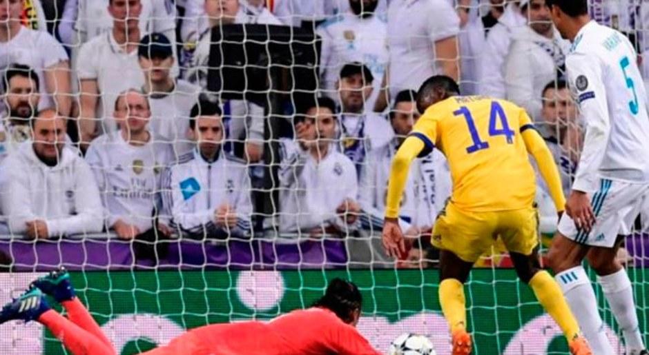 El principio de error, instante cuando Matuidi roba el balón.