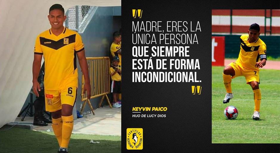 Kevin Paico es un joven con proyección tremenda, a su juventud ya ganó muchos galones en el equipo.