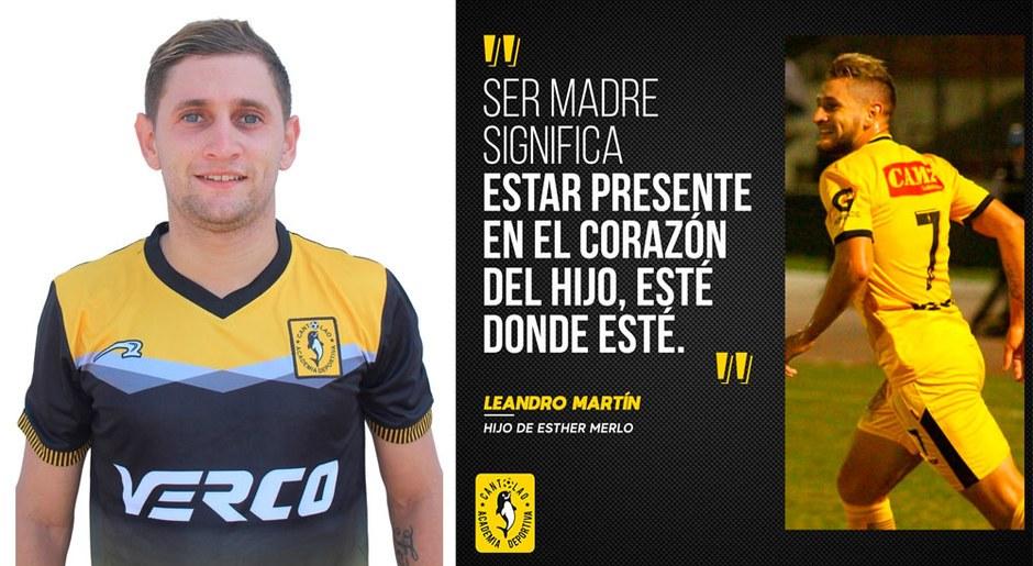Leandro Martín cuenta con pocas temporadas en el equipo pero ya está afianzado y viene mejorando año tras año.