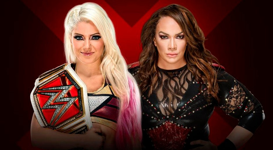 En WWE Extreme Rules 2018, Alexa Bliss vs Nia Jax por el Campeonato Femenino de Raw. Foto: WWE