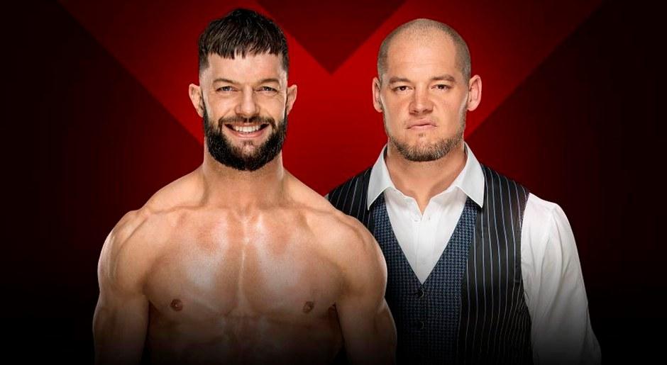 En WWE Extreme Rules 2018, Finn Bálor vs. 'Comisario' Baron Corbin. Foto: WWE
