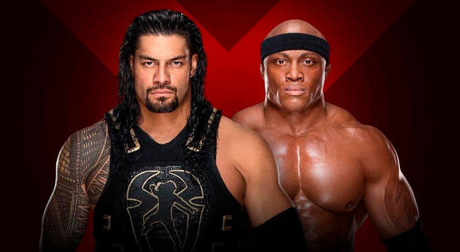 En WWE Extreme Rules 2018, Roman Reigns vs. Bobby Lashley. Foto: WWE