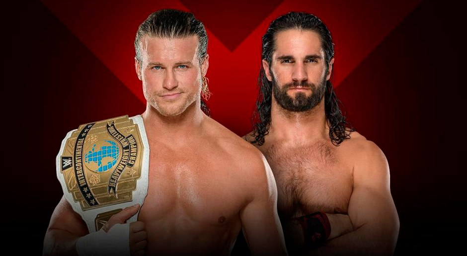 En WWE Extreme Rules 2018, Dolpg Ziggler vs Seth Rollins por el Campeonato Intercontinental. Foto: WWE
