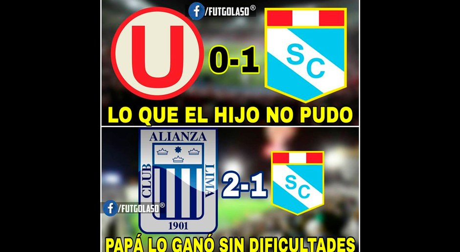 Universitario, víctima de memes tras derrota ante Sporting Cristal