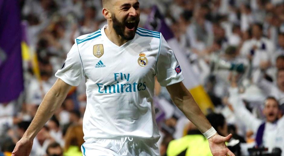 karim Benzema será el único 9 en el Real Madrid vs Getafe