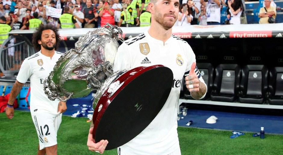 Sergio Ramos seguirá asumiento la capitanía del Real Madrid