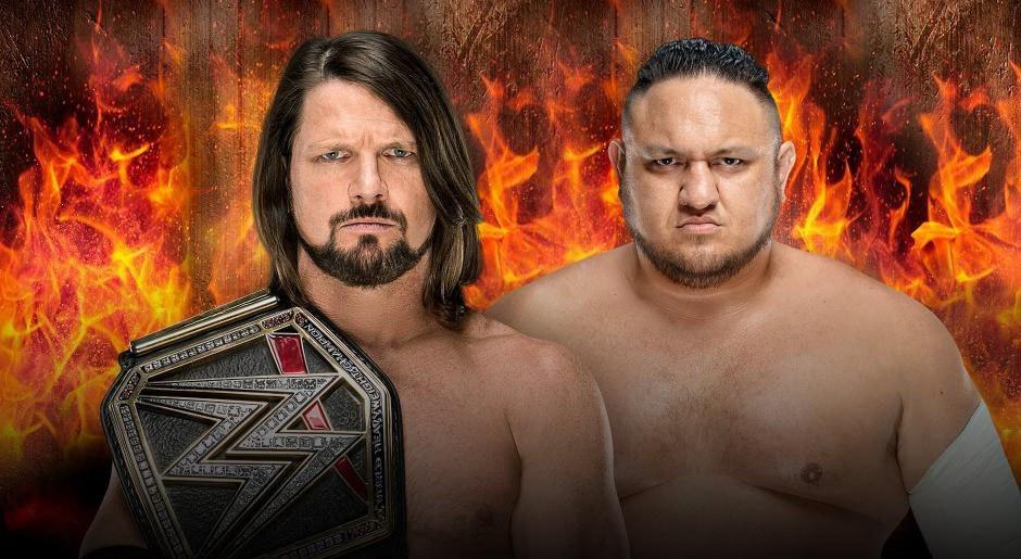 WWE. Campeón WWE AJ Styles vs. Samoa Joe