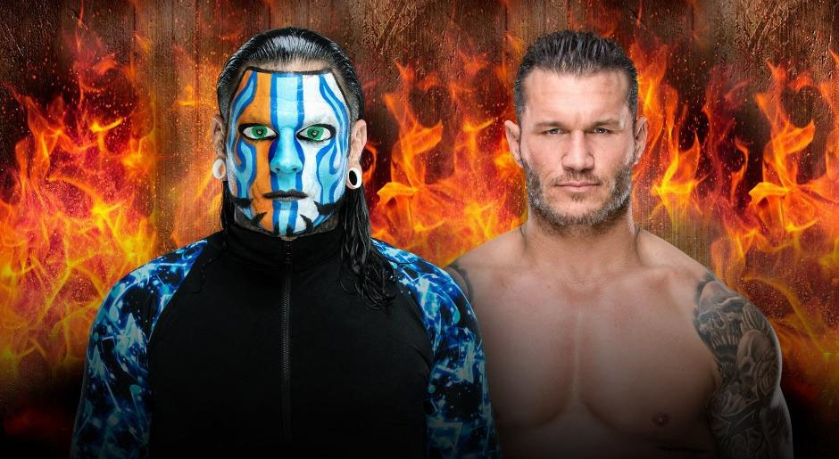 WWE. Jeff Hardy vs. Randy Orton (Lucha en Celda Infernal)