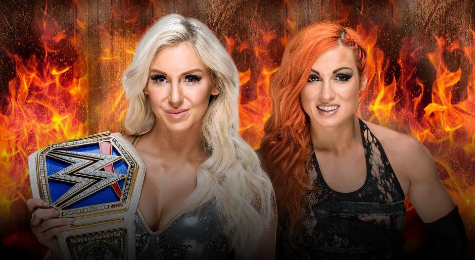 WWE. Campeona Femenil de SmackDown Charlotte Flair vs. Becky Lynch