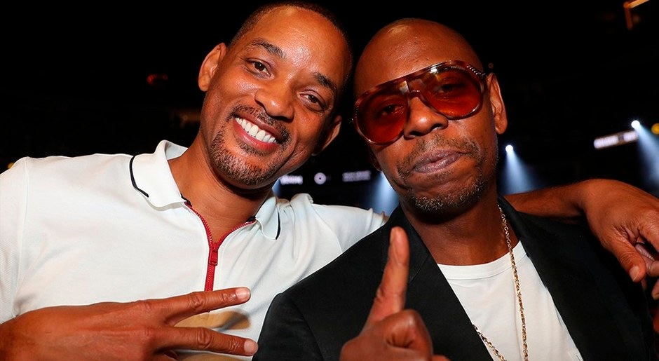 Will Smith y Dave Chappelle.