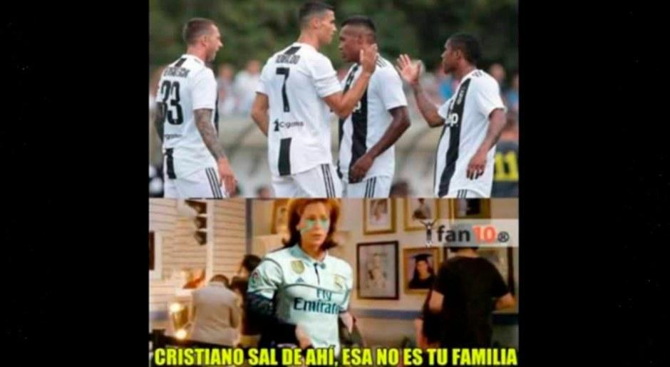 Cristiano Ronaldo: Los hilarantes memes tras su primer doblete con Juventus en la Serie A | Galeria | Fotos