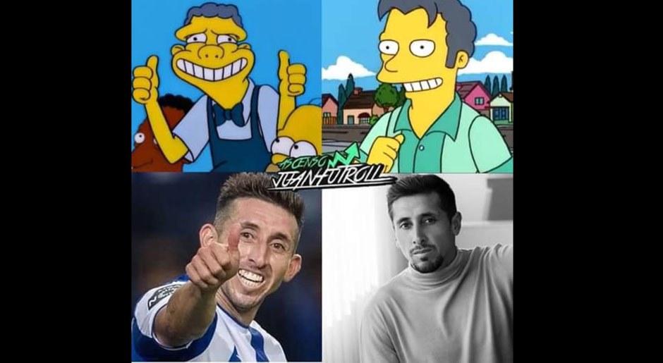 Héctor Herrera se realizó cirugía y es blanco de memes por su nueva apariencia