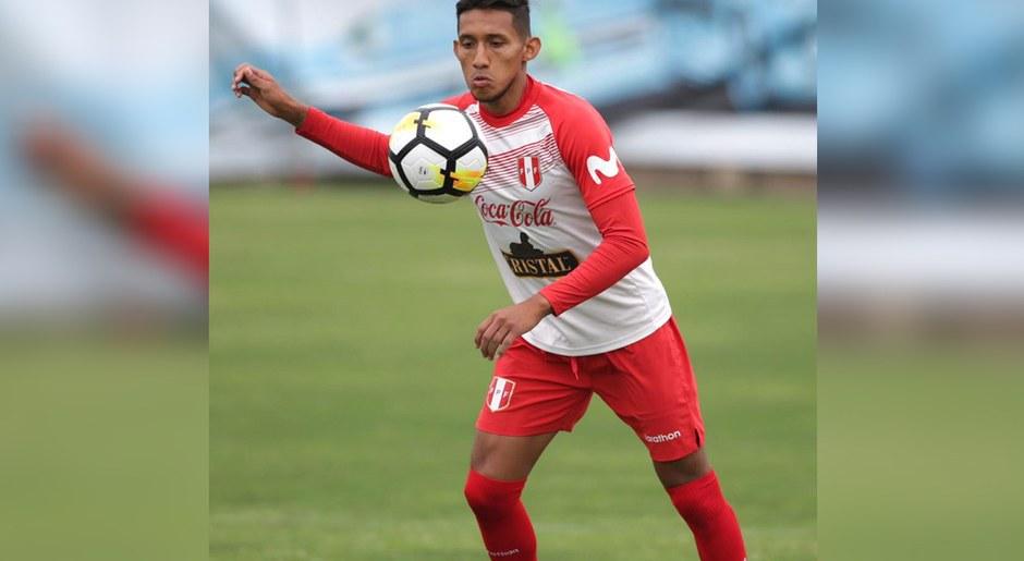 Entrenamiento de la Selección Peruana