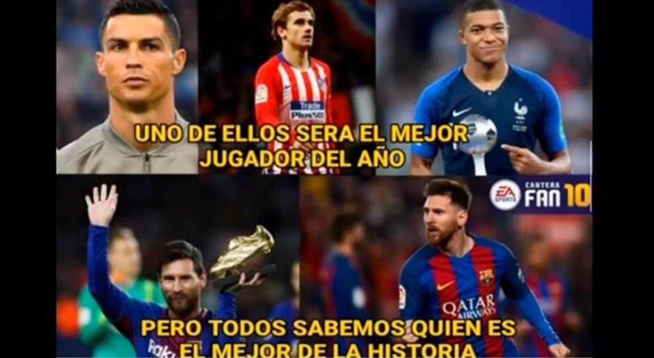 Balón de Oro 2018 EN VIVO: Los divertidos memes que dejó la premiación a Luka Modric | FOTOS | VIRAL