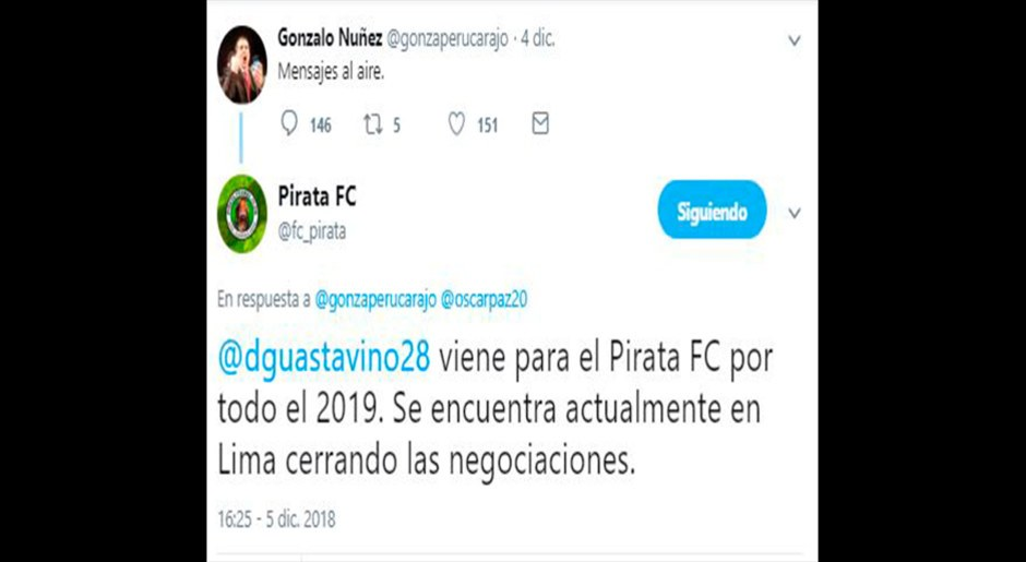 Molinos El Pirata trolea hinchas con supuesta cuenta