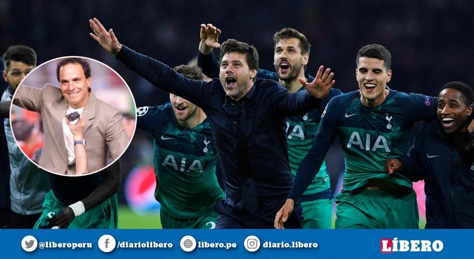 Mauricio Pochettino hizo historia con el Tottenham al estilo de Freddy Ternero. Foto: EFE
