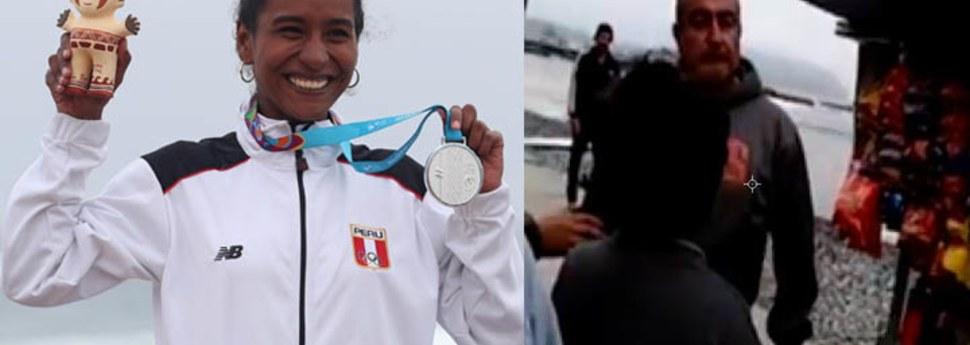 Madre de surfista subcampeona en Lima 2019 fue amenazada de muerte en Miraflores [VIDEO]